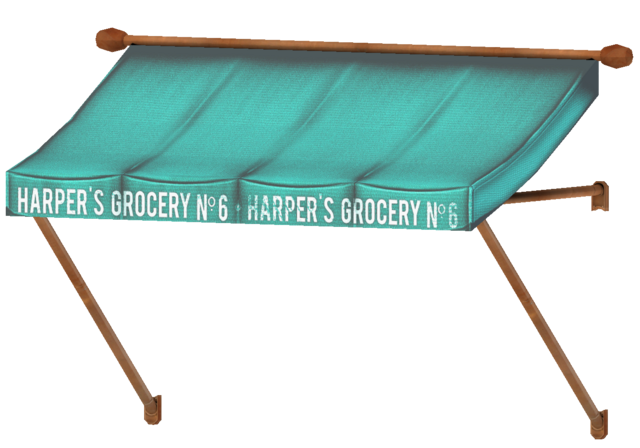 File:Harper's Grocery awning.png
