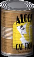 Aloof Cat Food Model Render