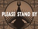 Standby tv sepia