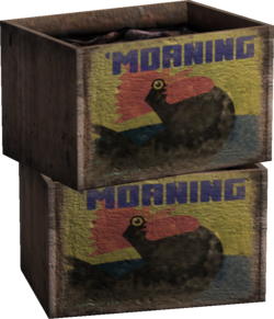 'Morning Brand Crates Model Render
