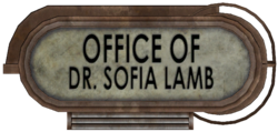 Office of Sofia Lamb sign