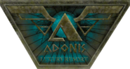 Adonis Luxury Resort Sign