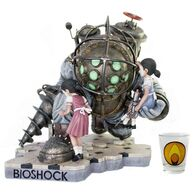 BaS Big Daddy Little Sister Statue