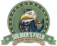 Soldier's Field Earnest Eagle sign