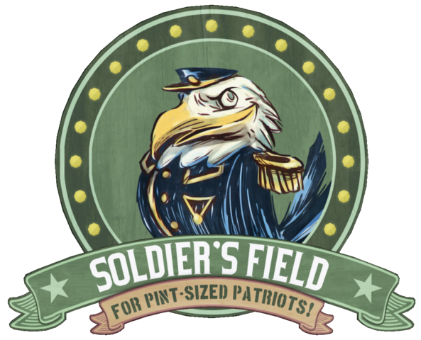 Dosya:Soldier's Field Earnest Eagle sign.png