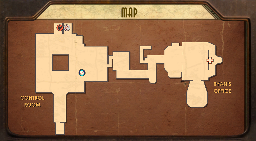 Rapture Central Control Map