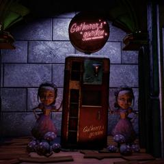 Un Jardín de las Recolectoras, visto en BioShock Infinite.