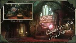 Kashmir Restaurant Postcard