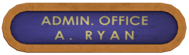 Dosya:Admin Office Andrew Ryan Sign.png