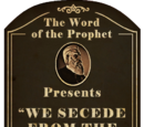 """We Secede from the So-Called """"Union"""""""