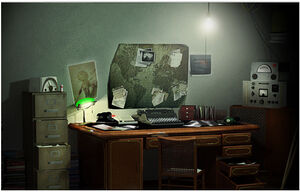Mark's room
