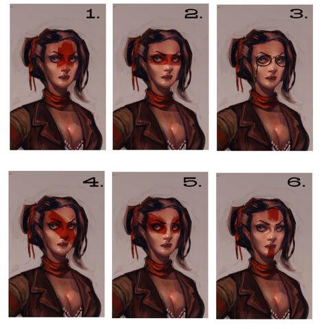 File:Female Vox Face Paint & Glasses Concept.jpg