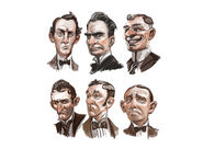 Columbia Citizen Male Faces Concept Art