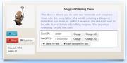 Magical Printing Press