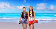 Paige & Frankie; Life is Awesome on the Fake Beach