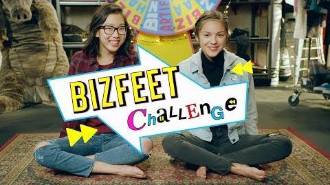 BizFeet Bizaardvark Shorts Disney Channel