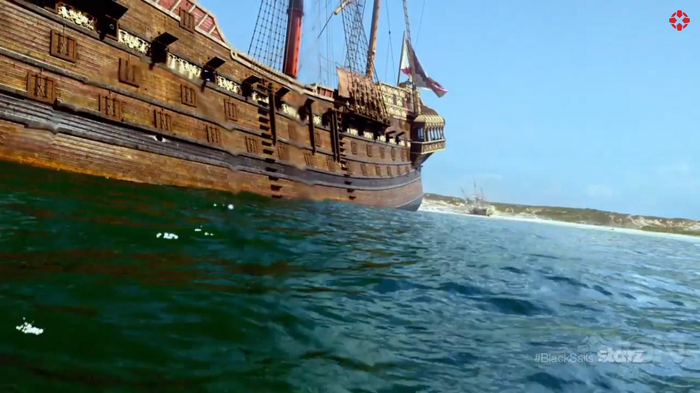 Image - Man O' War anchored.jpg | Black Sails Wiki ...