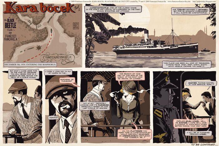 Kara Böcek - Page 01 (Pulp Sunday)