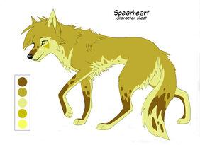 Spearheart Char sheet by KayFedewa