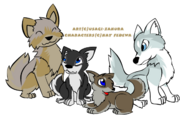 Alpha Family of Inaria by Usagi Zakura