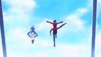 Kagetane and Kohina leave