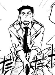 Tadashima's attire
