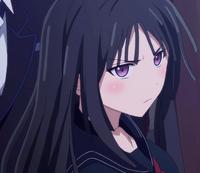 Kisara stares at Kikunojyo