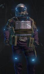 Dark Purple Armor