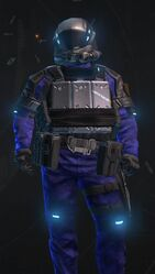 Digital Blue Armor
