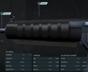 Krane Assault Barrel