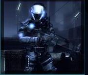 Blacklight Soldier