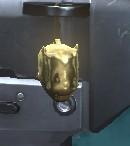 BLR Golden Zombie Girl