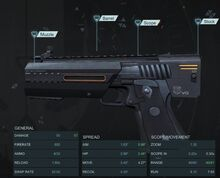 Heavy Pistol V2 Z900 Mod