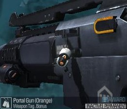 Portal Gun (Orange) edited