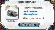 Questadd London Atmosphere-Rewards