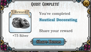 Quest Nautical Decorating-Rewards