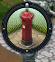 Red pole icon