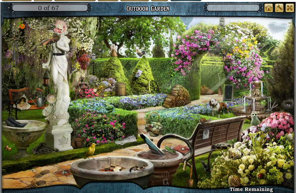 Scene Outdoor Garden-Screenshot