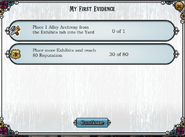 Quest My First Evidence-Tasks