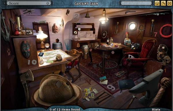Scene Captain's Cabin-Screenshot