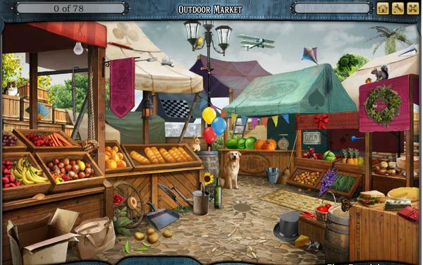 Scene Outdoor market-Screenshot