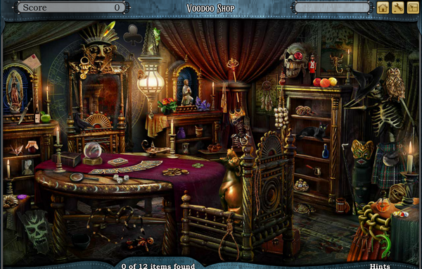 Scene Voodoo Shop-Screenshot