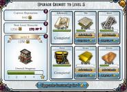 Upgrade chemist level 5