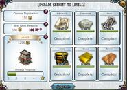 Upgrade chemist to level 3
