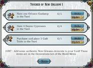 Quest Touches of New Orleans 1-Tasks