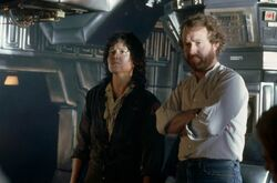 Ridley Scott and Alien
