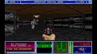 Bstone source port Planet Strike screenshot