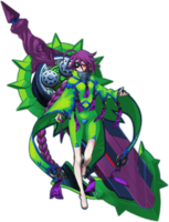 Digamma-03X (Character Select Artwork, CarlosIXA)