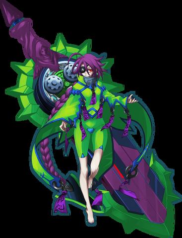 File:Digamma-03X (Character Select Artwork, CarlosIXA).png