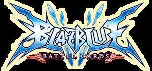 BlazBlue Battle Cards (Logo)